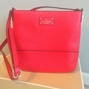 Kate Spade Bay Street Cora Leather Crossbody